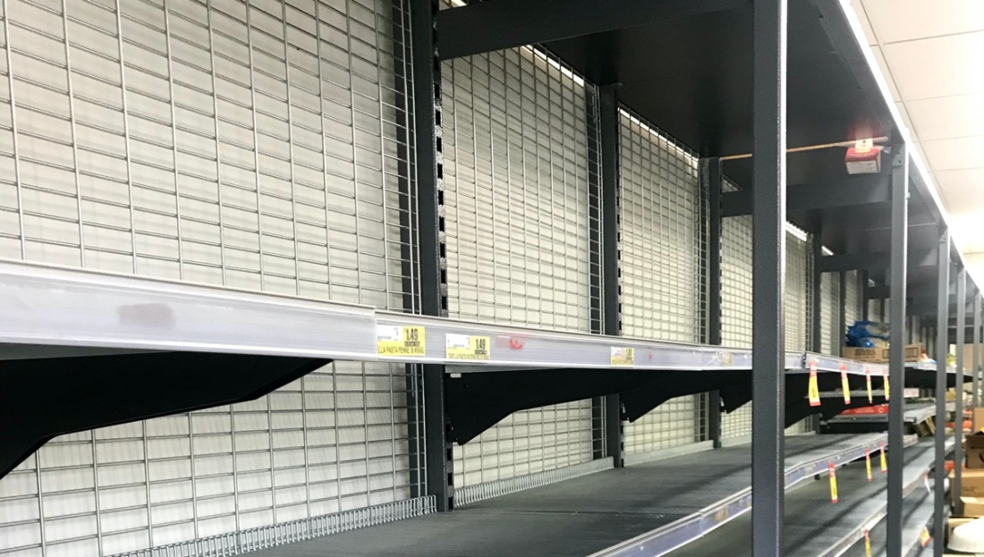 Empty Shelves in Melbourne